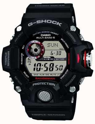 Casio Mens RANGEMAN controlado por radio g-shock GW-9400-1ER