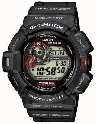 Casio Mudman G-choque para hombre sensor gemelo solar G-9300-1ER