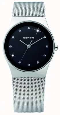 Bering Damas de acero inoxidable reloj análogo de cuarzo 12927-002