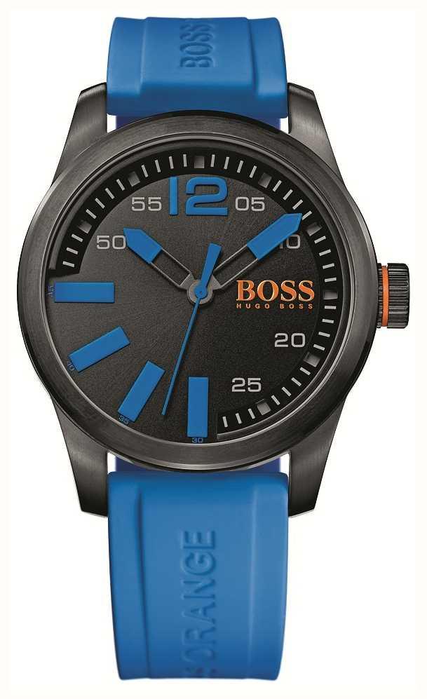 2c59db5b3089 Hugo Boss Orange Reloj Para Hombre Esfera De Color Negro Con ...