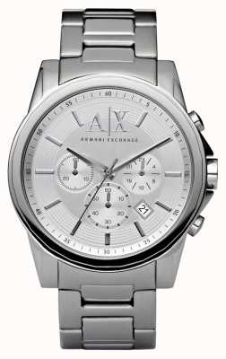 Armani Exchange Relojes de acero de plata AX2058
