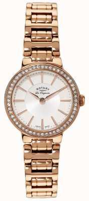 Rotary Señoras les originales, placa de oro, reloj radio de galena LB90085/02