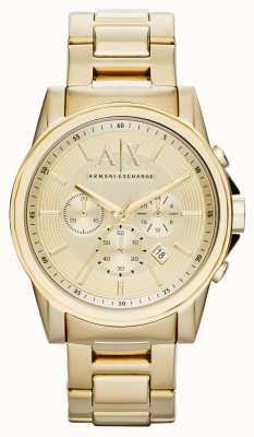 Armani Exchange Relojes de PVD oro chapado inteligente AX2099