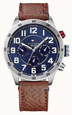Tommy Hilfiger Mens trent reloj de múltiples funciones 1791066