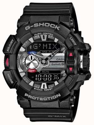 Casio Mens g-shock g'mix bluetooth 4.0 smartwatch GBA-400-1AER