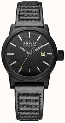 Barbour Mens Halsted reloj BB024BKBK
