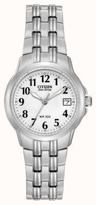 Citizen Reloj deportivo para mujer con silueta ecológica EW1540-54A