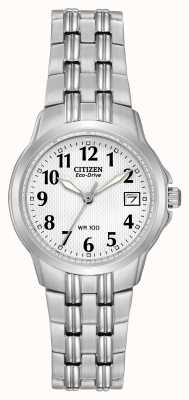 Citizen Señoras silueta reloj Eco-Drive deporte EW1540-54A