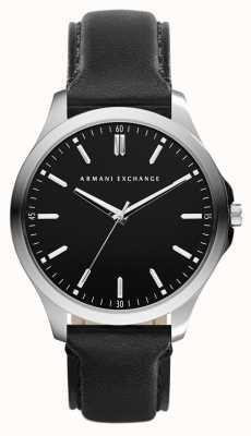 Armani Exchange reloj de la correa de cuero para hombre AX2149