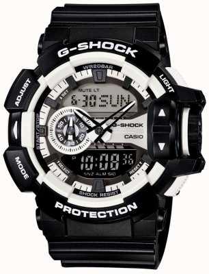 Casio Mens G-SHOCK reloj negro GA-400-1AER
