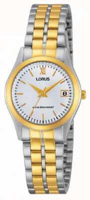 Lorus Señoras del reloj clásico de dos tonos RH770AX9