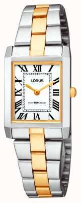Lorus Reloj pulsera cuadrado clásico Ladies ' RTA03AX9