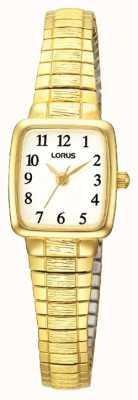 Lorus Oro clásico de las señoras del reloj plateado RPH56AX9
