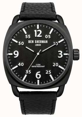 Ben Sherman Reloj covent para hombre en espiga esfera negra WB008B