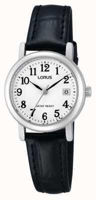 Lorus Reloj de señoras de la correa de cuero RH765AX9