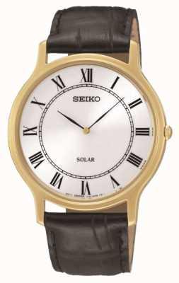 Seiko Reloj para hombre con energía solar SUP878P1