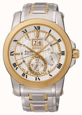 Seiko Mens Premier reloj cinética SNP094P1