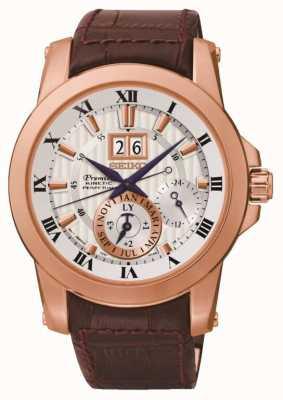 Seiko Mens Premier reloj cinética SNP096P1