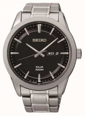 Seiko Reloj para hombre con energía solar SNE363P1