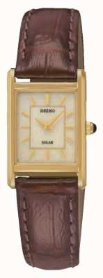 Seiko Solar reloj accionado Ladies ' SUP252P9