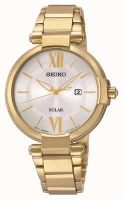 Seiko Reloj de cuarzo alimentado por energía solar SUT158P1
