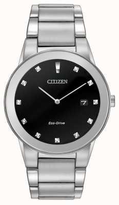 Citizen | axioma ecológico para hombre | esfera de diamante negro | AU1060-51G