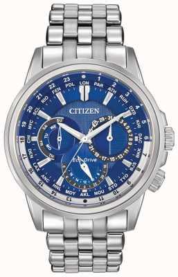 Citizen Reloj para hombre del temporizador mundo calendrier eco-drive BU2021-51L