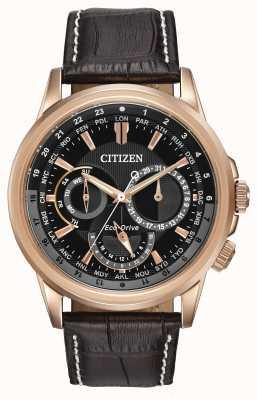 Citizen Mens calendrier rosa reloj cronógrafo eco-drive tono BU2023-04E