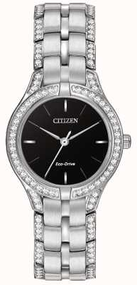 Citizen Cristal de la silueta de reloj Eco-Drive Damas FE2060-53E