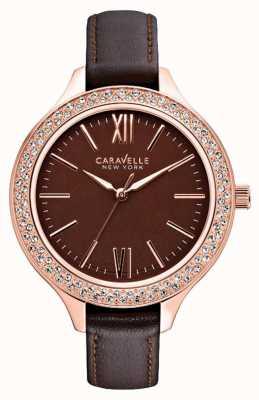 Caravelle New York Ladies relojes carla 44L124
