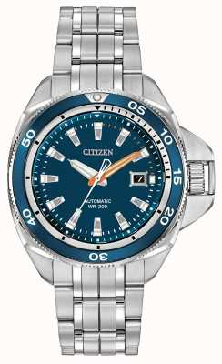 Citizen acero inoxidable Grand Sport Automático firma gira NB1031-53L