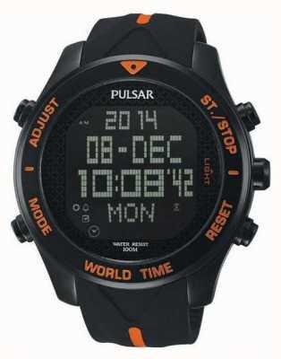 Pulsar Púlsar reloj cronógrafo alarma para hombre PQ2037X1