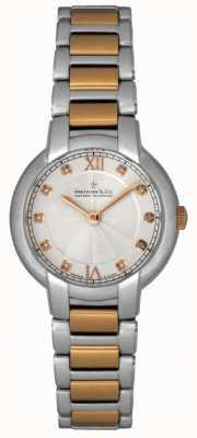 Dreyfuss Señoras diamantes reloj fijó dos tonos DLB00062/D/01