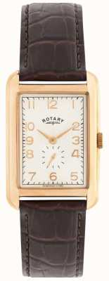 Rotary Portland para hombre reloj de vestir aumentaron un tono GS02699/01
