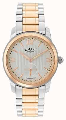 Rotary Cambridge reloj para hombre de dos tonos GB02701/01