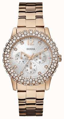 Guess Señoras Dazzler reloj W0335L3