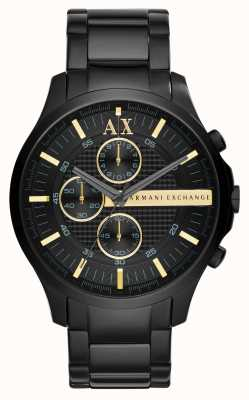 Armani Exchange Hombre Todo cronógrafo negro AX2164