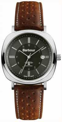 Barbour Mens unidad faro reloj bronceado BB018SLTN