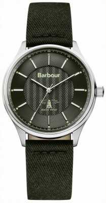 Barbour Mens glysdale fusible reloj negro BB021SLBK