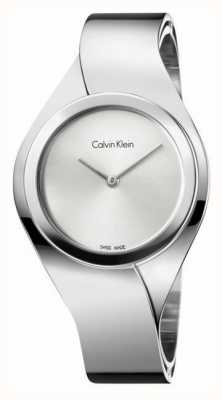 Calvin Klein Damas de acero inoxidable reloj análogo de cuarzo K5N2M126
