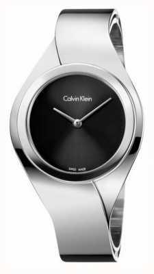 Calvin Klein Damas de acero inoxidable reloj análogo de cuarzo K5N2M121
