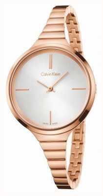 Calvin Klein Damas de acero inoxidable reloj análogo de cuarzo K4U23626