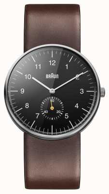 Braun Reloj para hombre marrón negro BN0024BKBRG