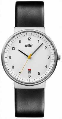 Braun Mens todo reloj negro blanco BN0032WHBKG