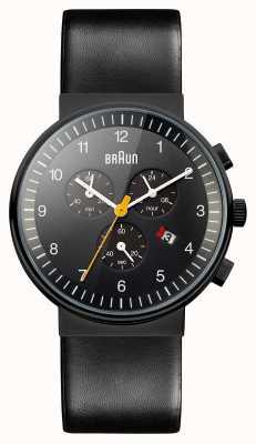 Braun Para hombre del cronógrafo todo reloj negro BN0035BKBKG