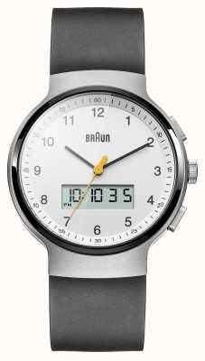 Braun Reloj del vestido de cerámica negro unisex BN0159WHBKG