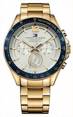 Tommy Hilfiger Mens luke reloj dorado 1791121