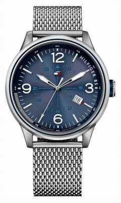 Tommy Hilfiger Para hombre peter reloj de pulsera con malla 1791106