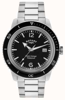 Rotary Ocean vengador de acero inoxidable para hombre GB02694/04