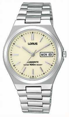 Lorus Reloj pulsera de acero RXN31BX9